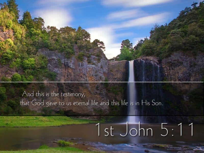 1st John-5:11