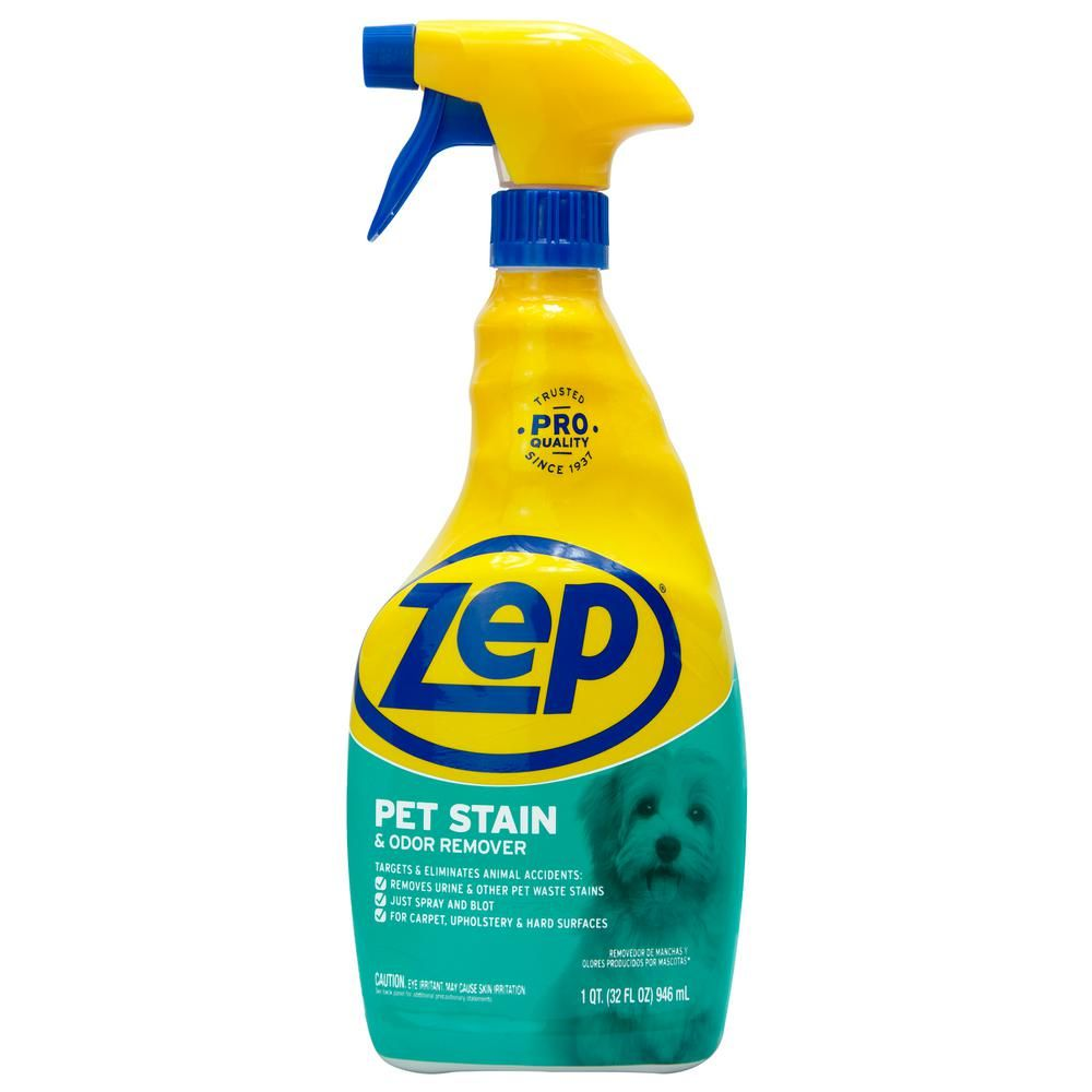 5 Zep 32 Oz Pet Stain And Odor Remover Zupetodr32 The Home Depot With Images Pet Stains