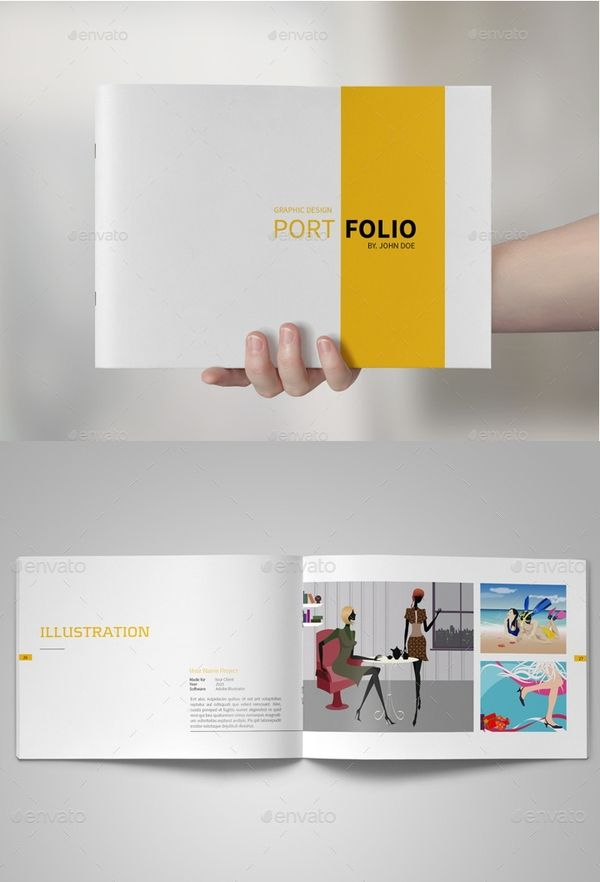 Portfolio Design to Inspire! 24+ Design Templates to Download | Free & Premium Templates