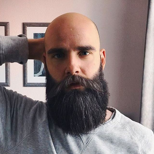 pingl par zaoui bruno sur barbes bald with beard awesome beards et beard styles. Black Bedroom Furniture Sets. Home Design Ideas