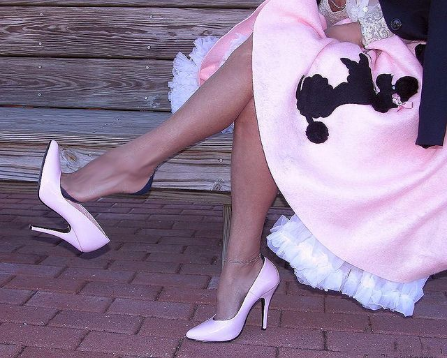Pink Poodle Skirt And Shoe Dangle In 2018 Sewing