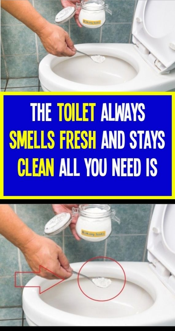 The Toilet Will Always Smell Fresh And Stay Clean In 2020 Keep It Cleaner Smell Fresh Cleaning