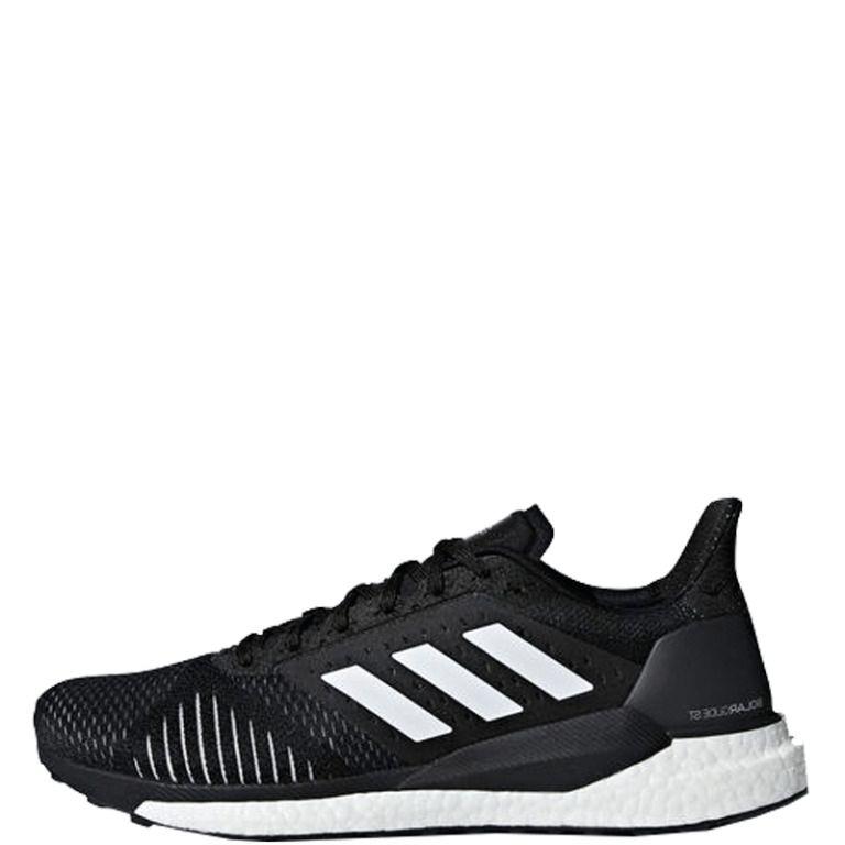adidas Solar Glide ST Men's Black Running Shoes 2018 Mid Top Mesh ...