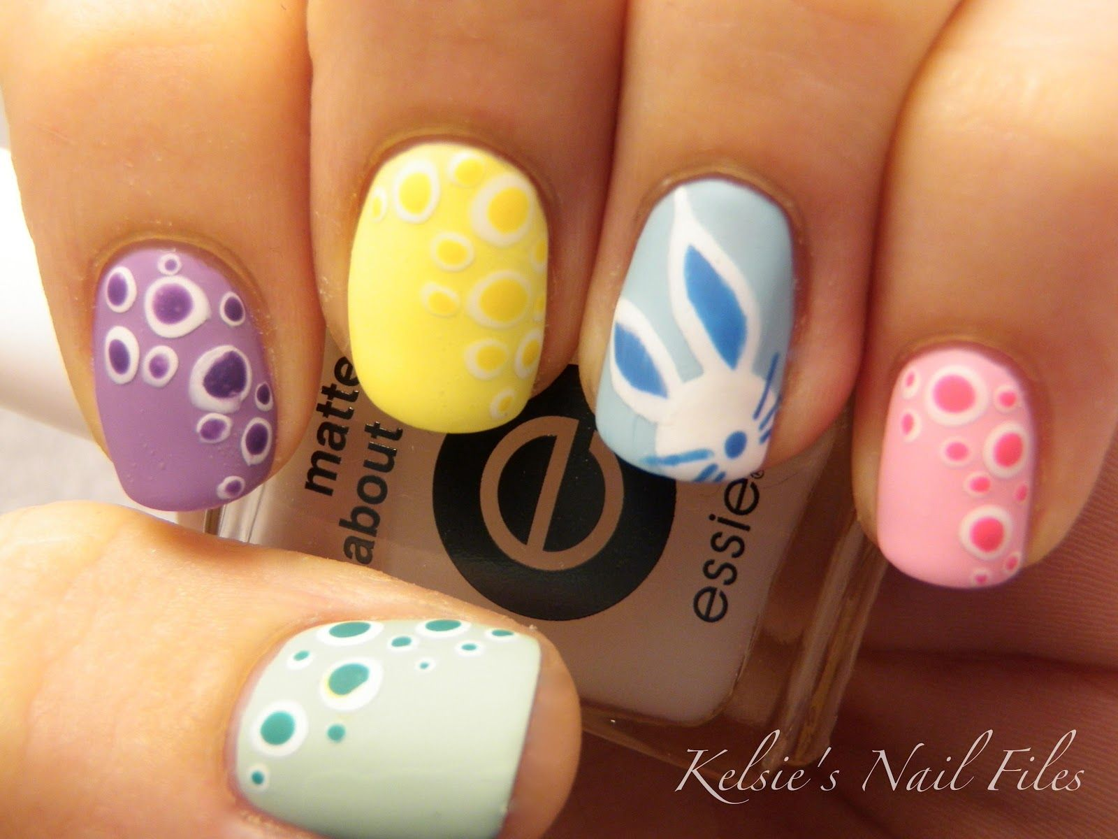 Kelsieus Nail Files Happy Easter  Cute Nails  Pinterest  Happy