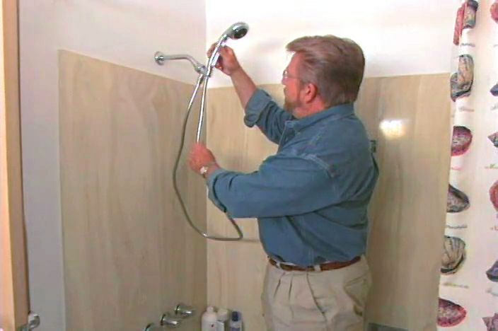 How to Remove a Shower Head and Install a Shower Wand