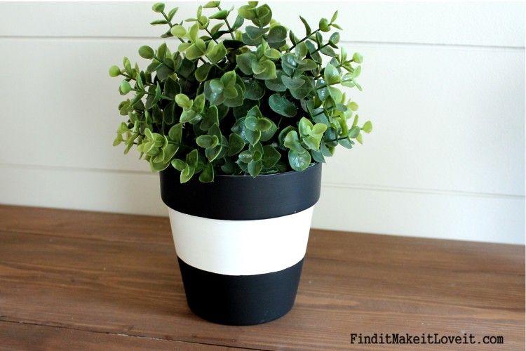 3 ways to dress up terra cotta pots