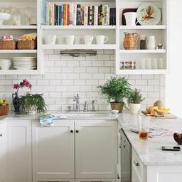Elegant White Shaker Kitchen Cabinets