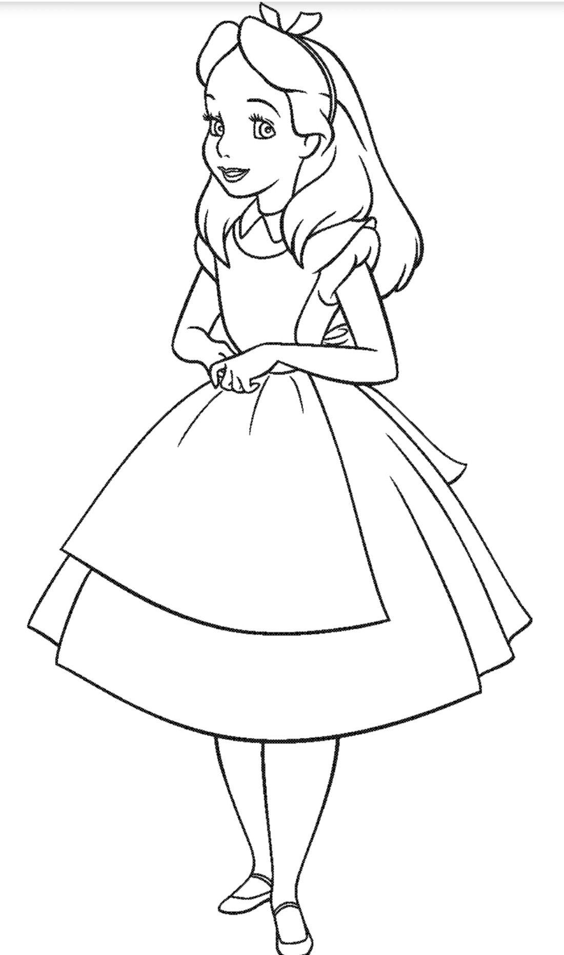 Pin De Hortencia Torres En Molde Dibujos De Disney Colorear