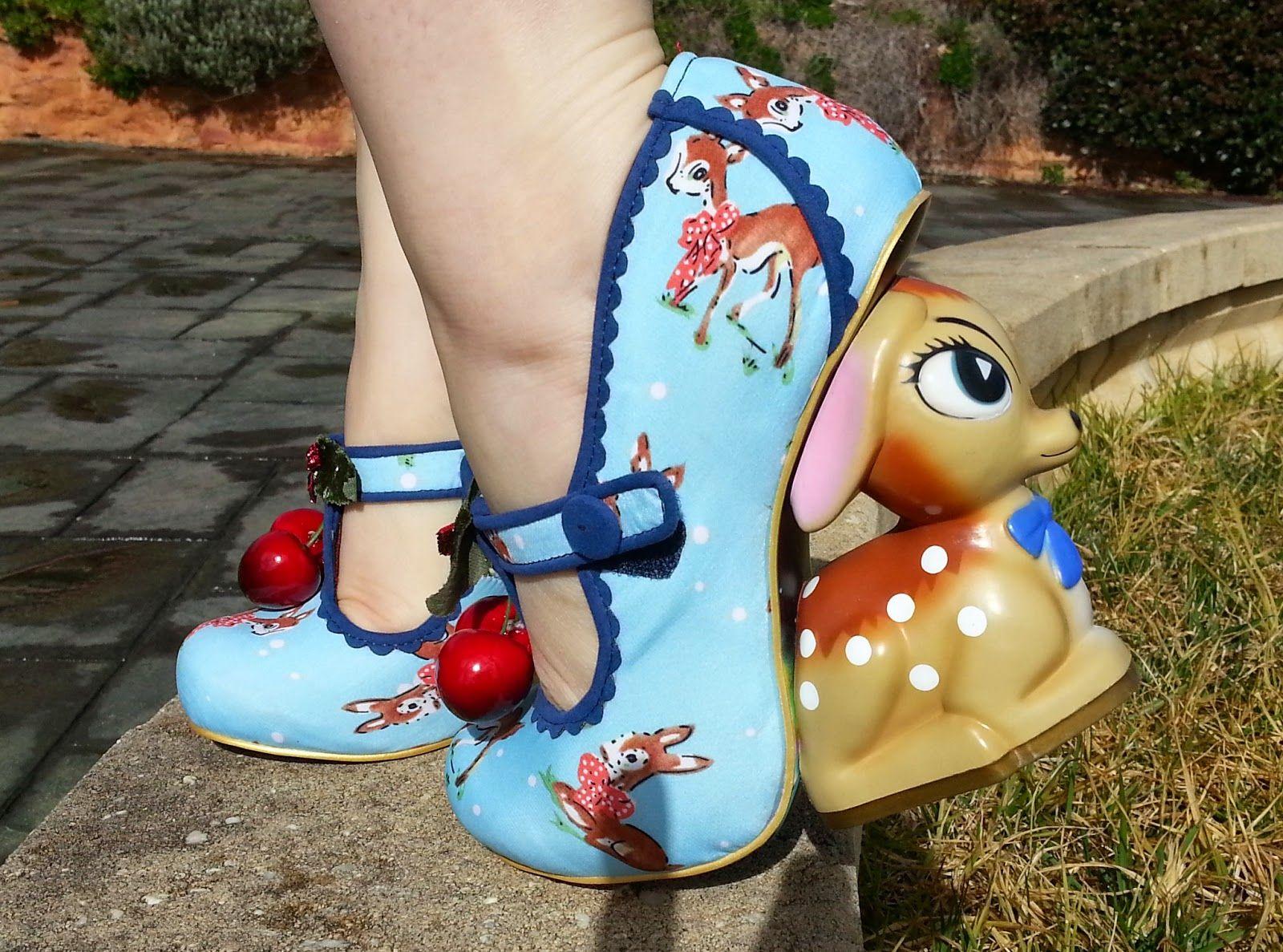Irregular Choice BAMBI Deer Shoes