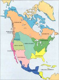 American Indians, Culture Areas, Tribes | Native american ...