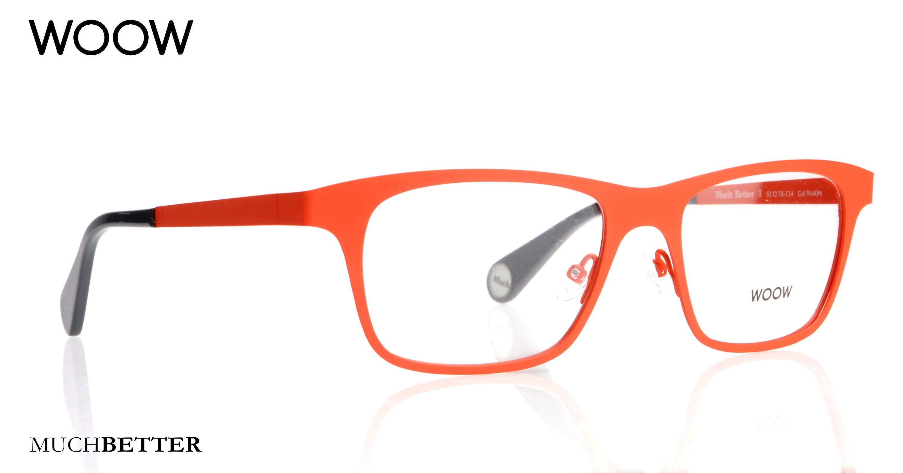 Woow Wooweyewear Optical Metal Frames Orange Frames