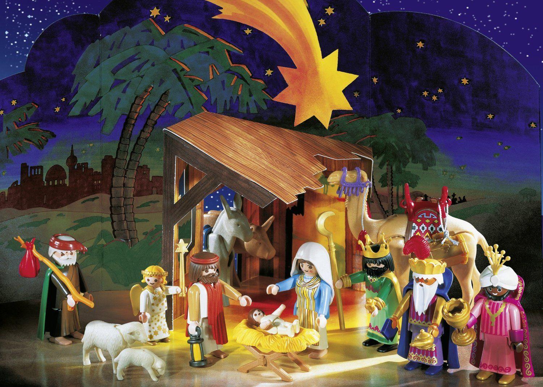 Playmobil Weihnachtskrippe.Playmobil Nativity Set Amazon Co Uk Toys Games