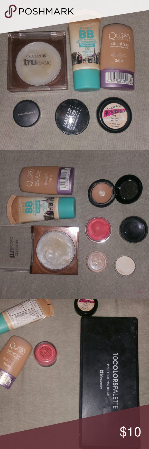 Bulk Face MakeUp Clean Out I'm cleaning out my make up