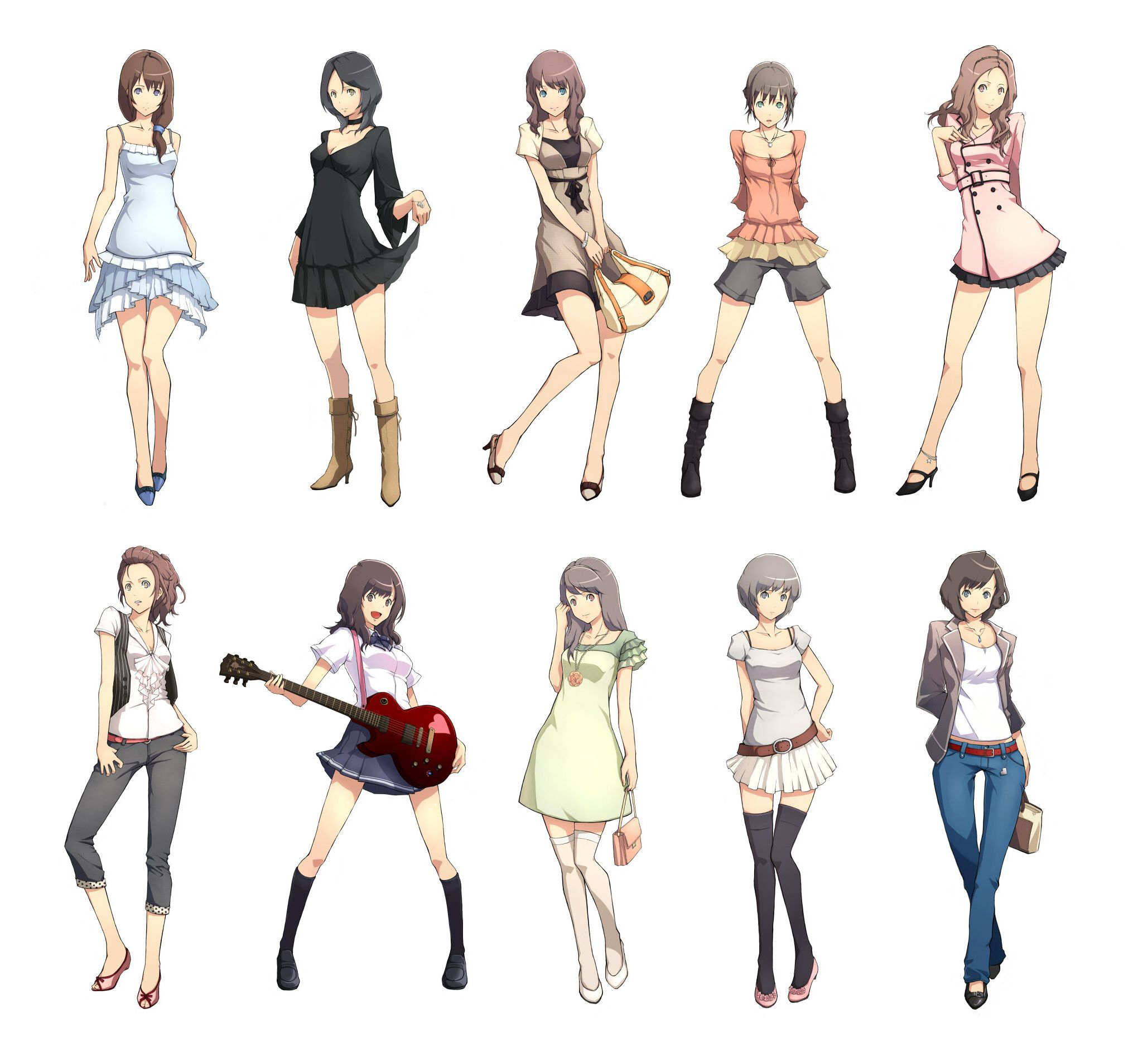 2058x1894 Cute Anime Outfits To Draw Easy To Draw Manga Girls
