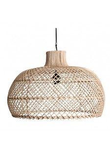 Oneworld Interiors Suspension En Rotin Naturel ø56cm Lamp