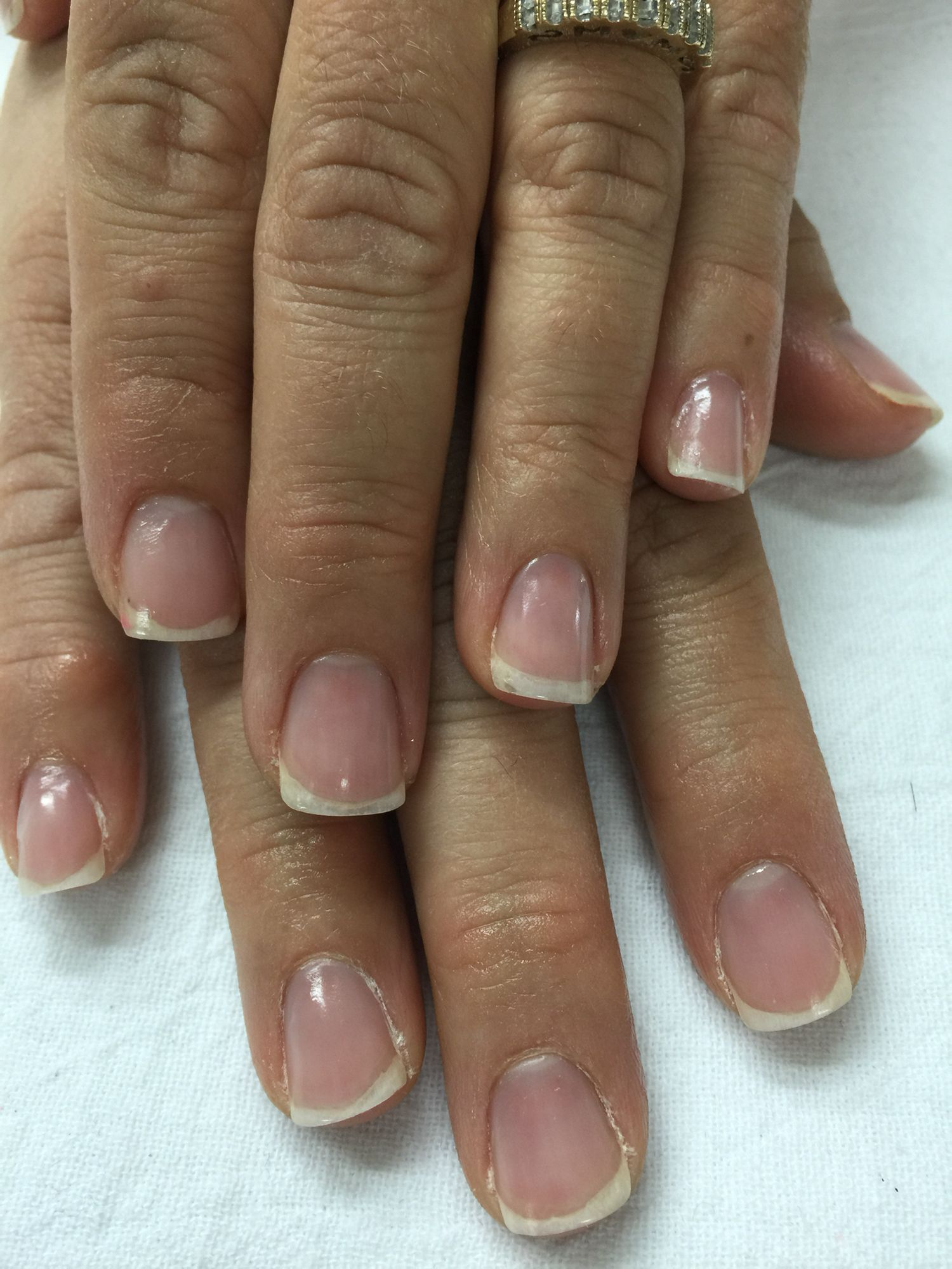 Gel nail removal. There is no damage to the natural nail!!   Gel ...