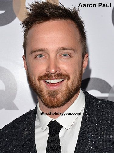 Aug 27 - Aaron Paul, American actor was Born Today. For more famous birthdays http://holidayyear.com/birthdays/