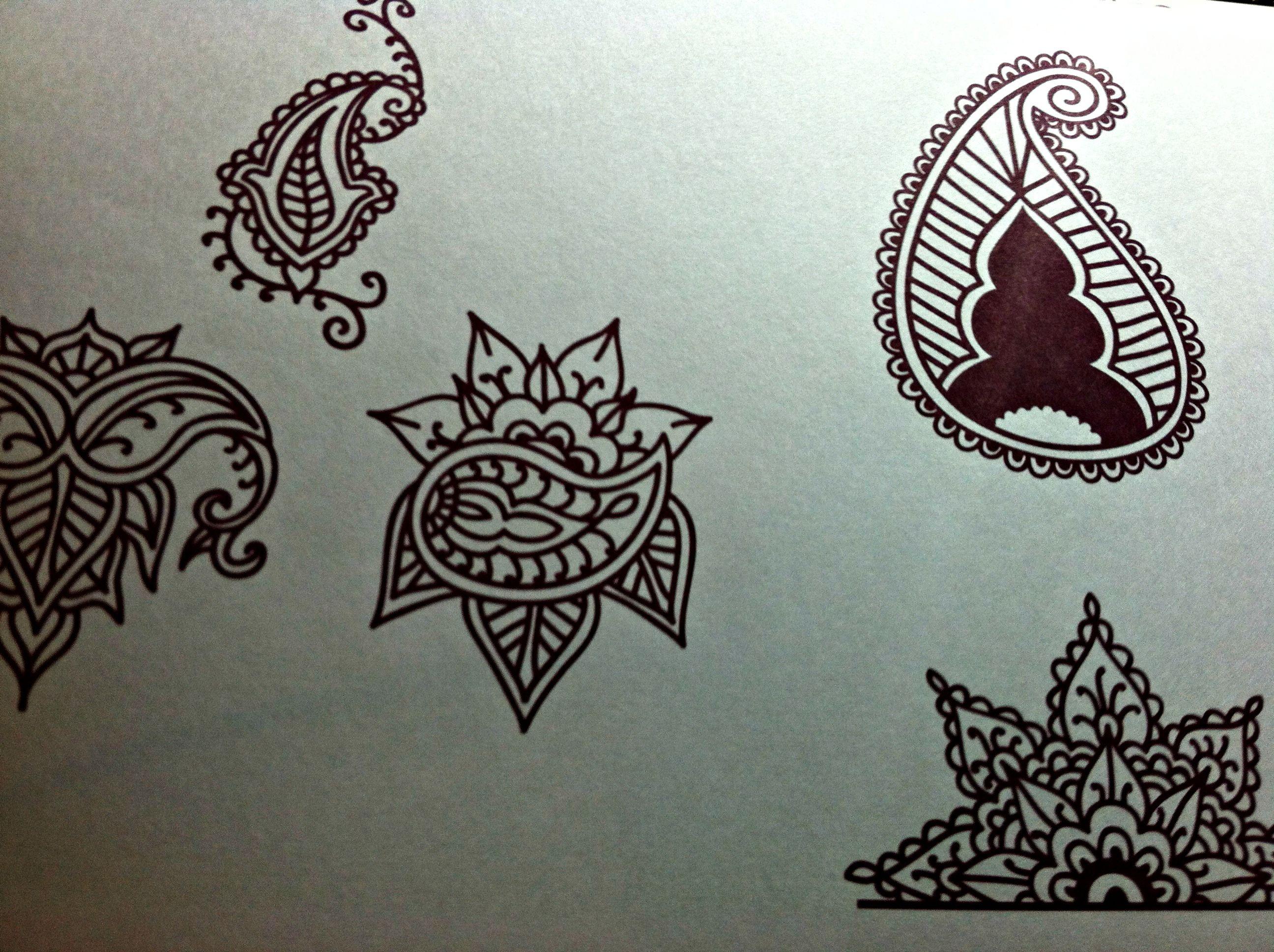 Desenhos Mehndi Significado : Mehndi designs for henna use e desenhar