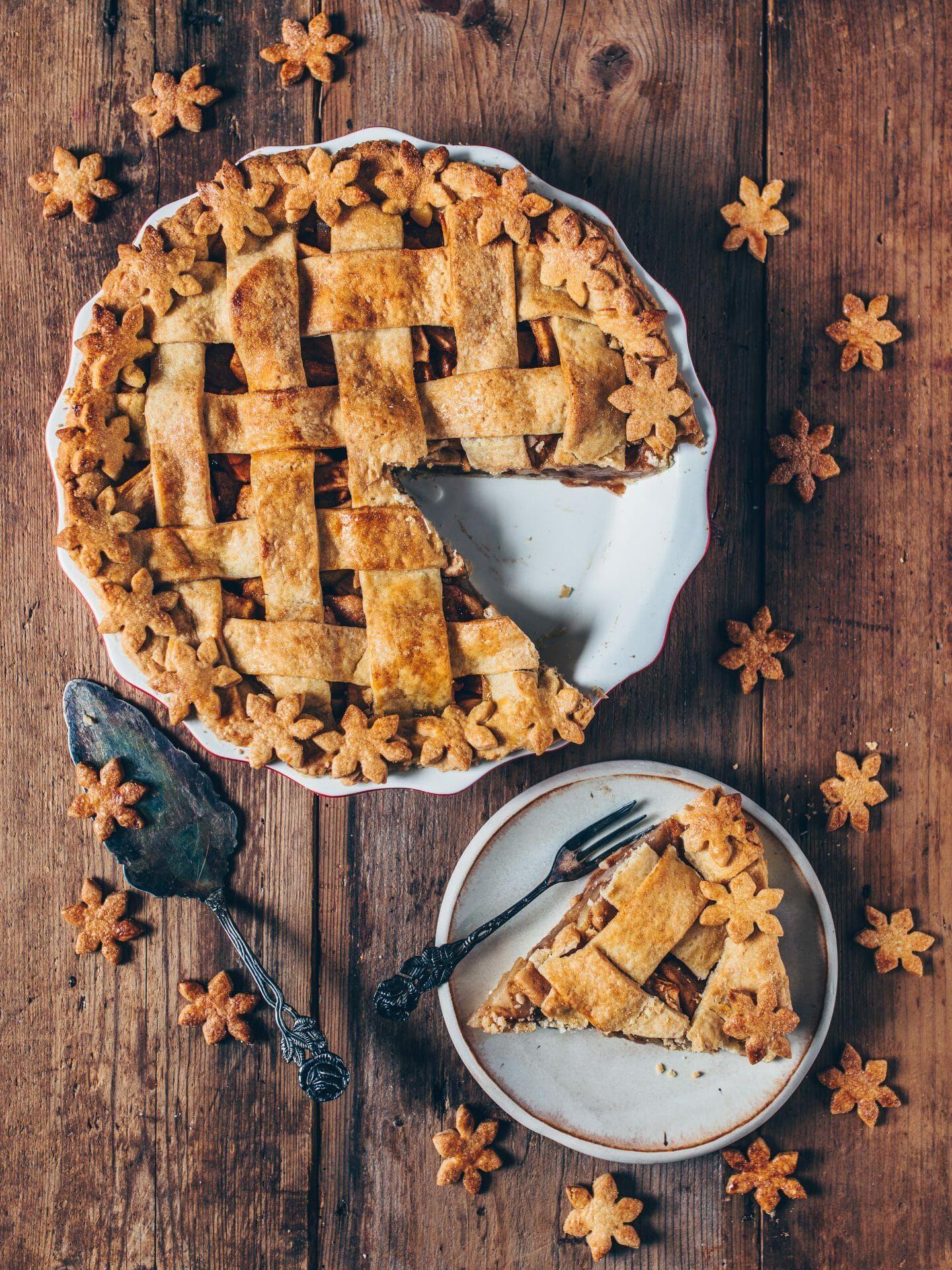 Vegan Apple Pie Easy Recipe Bianca Zapatka Recipes Recipe Vegan Apple Pie Gluten Free Apple Recipes Apple Pie
