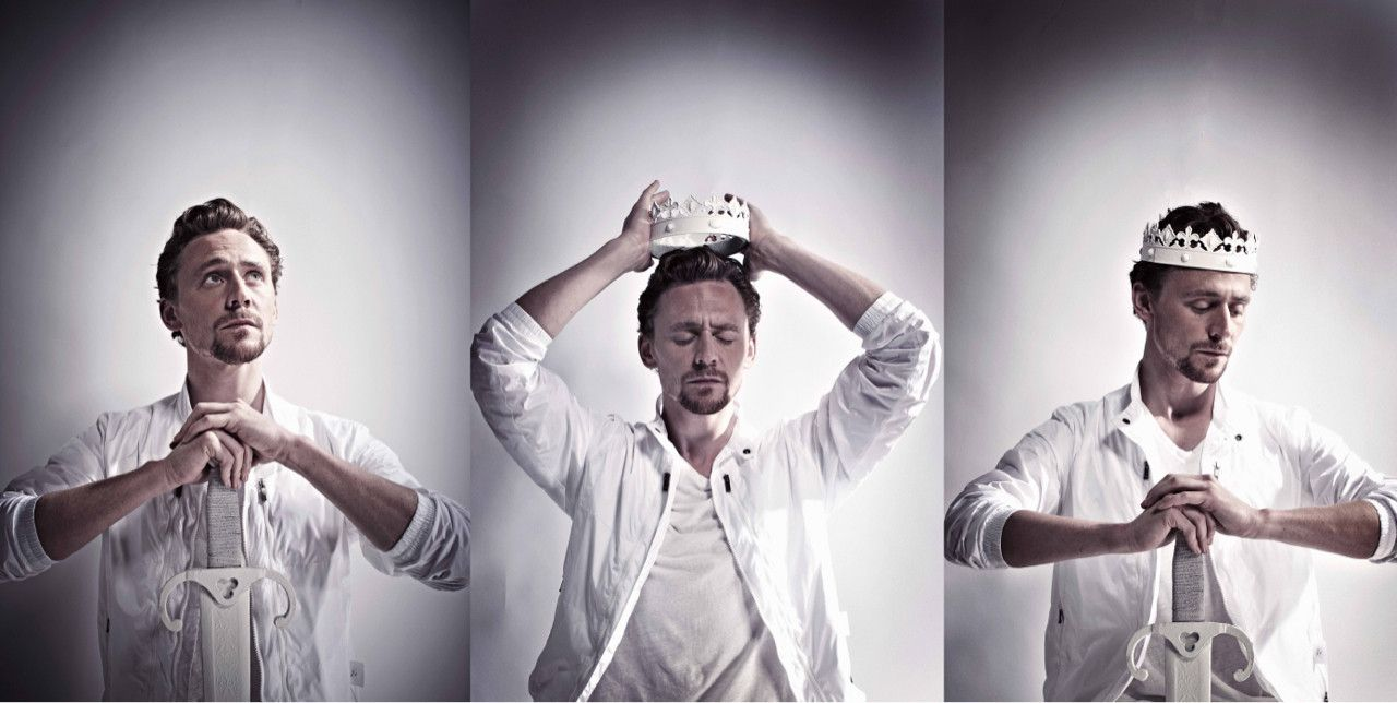 Tom Hiddleston... extremely handsome man. And that british accent, wow!