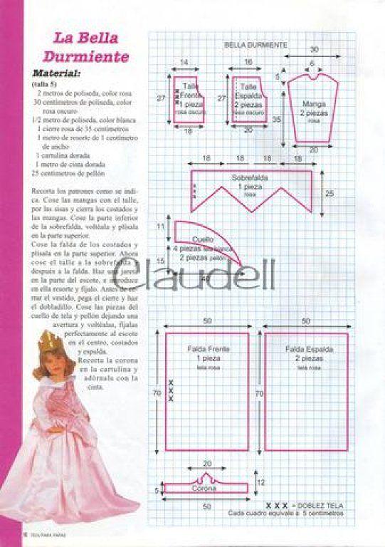 vestidos de princesa | Costura | Pinterest | Princess dress patterns ...