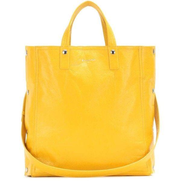 balenciaga tote bag yellow