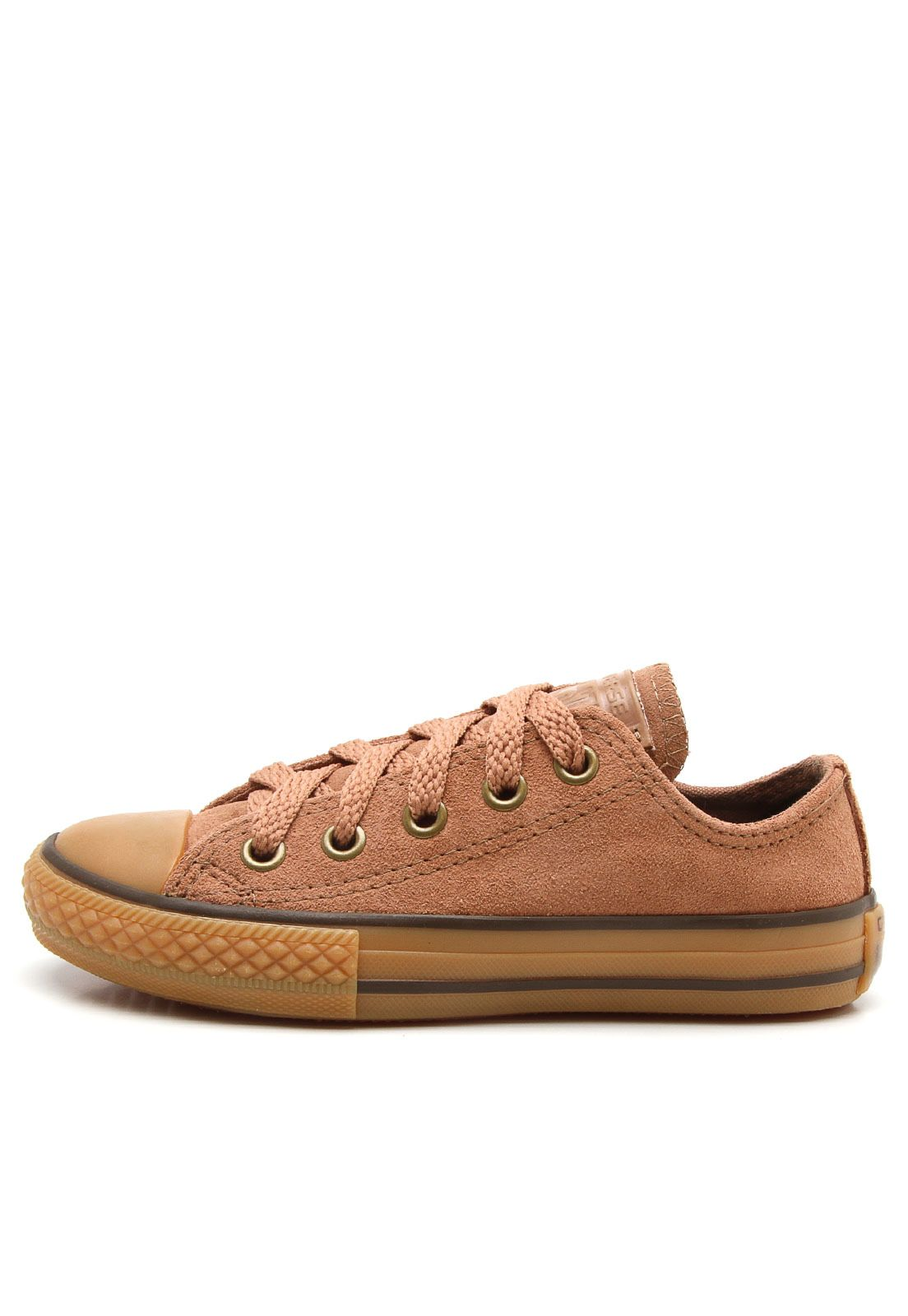 03f280671 Tênis Converse Chuck Taylor All Star Bege - Marca Converse