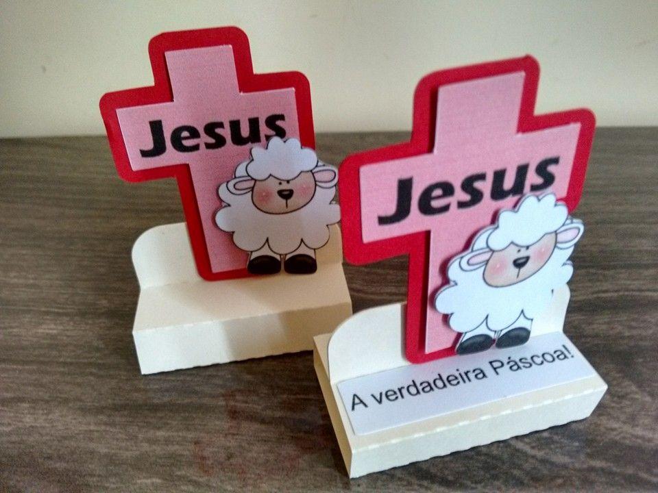 Jesus, a verdadeira Páscoa. Lembrancinha PascoaMinistério InfantilAtividades  ...
