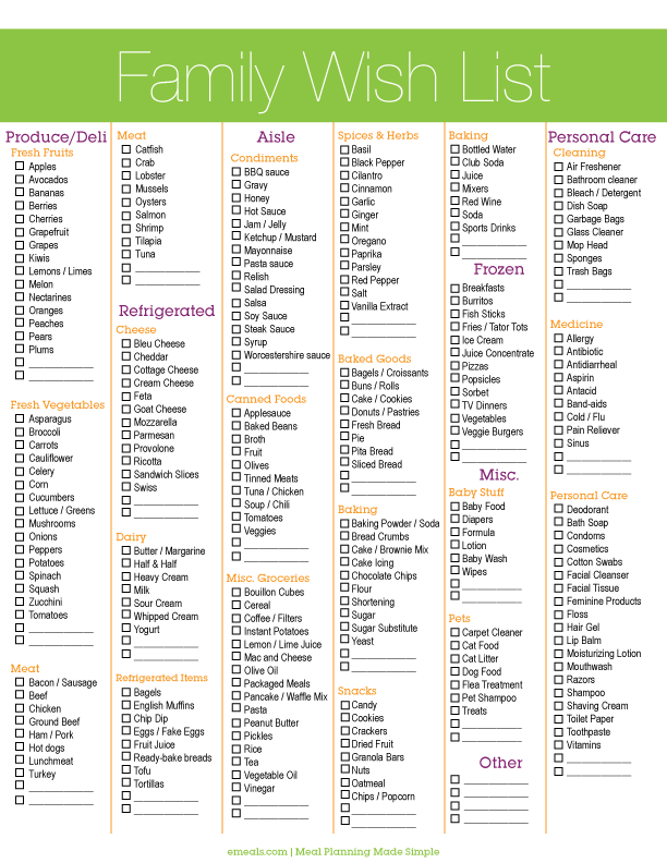 Meal Planning Made Easy Gethealthy Getorganized  Free