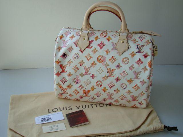 New Louis Vuitton Le Monogram Watercolor Aquarelle Speedy 30 Louis Vuitton Louis Vuitton Bag Louis Vuitton Handbags