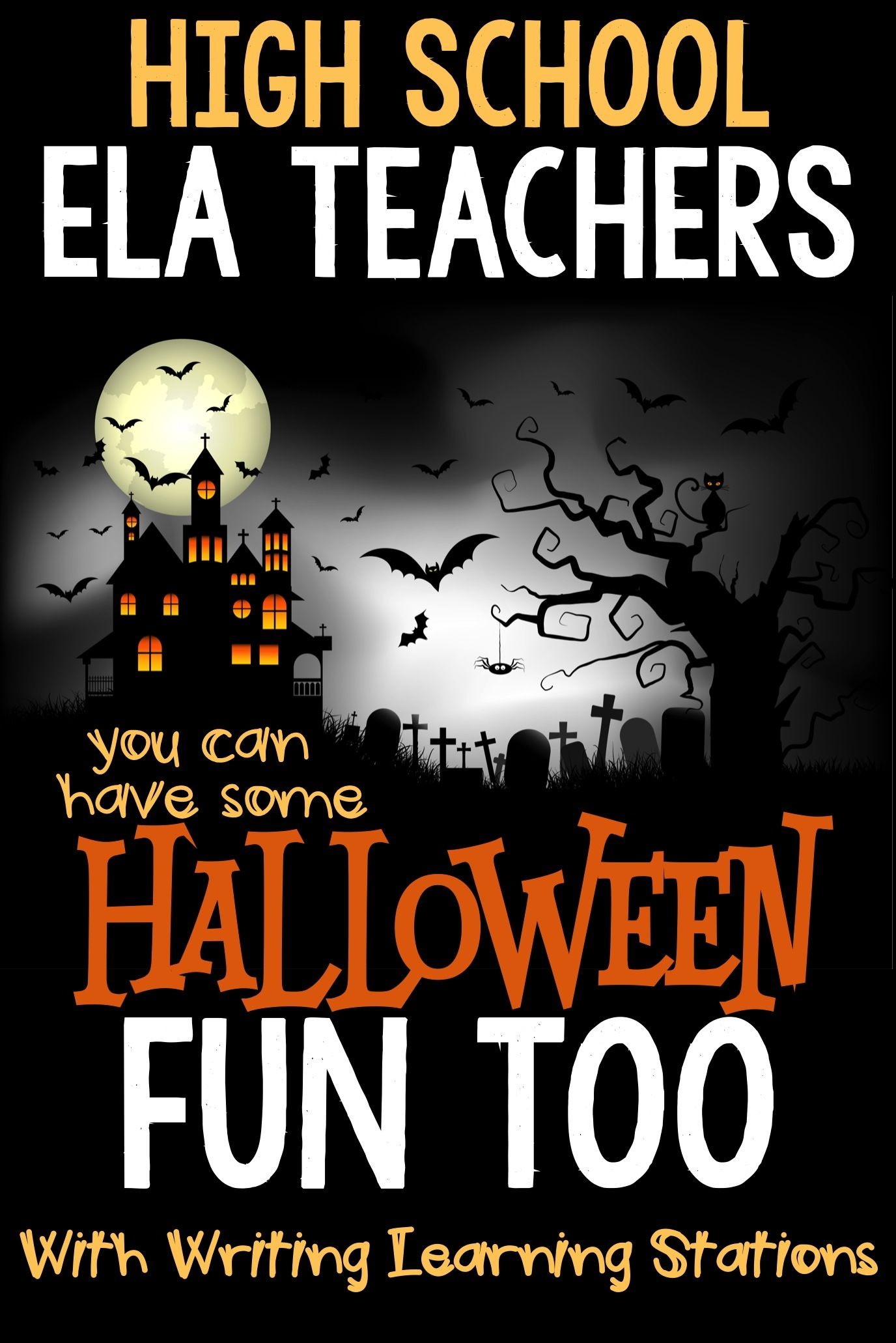 Halloween Creative Writing Amp Learning Stations