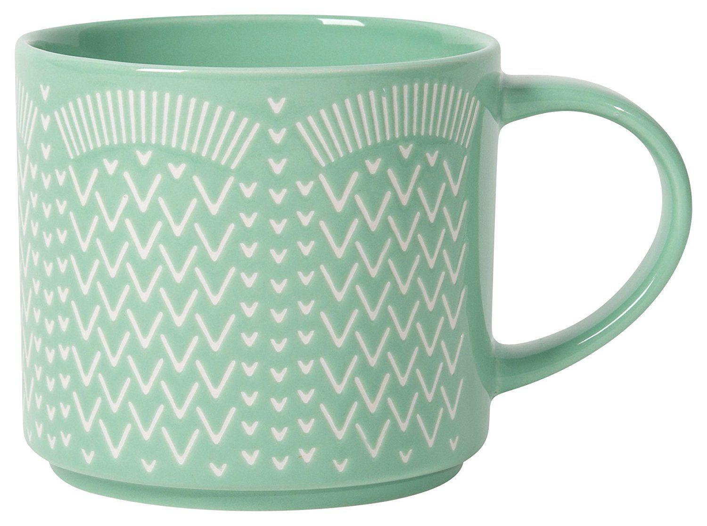 Now Designs Stacking Tile Mug, Set of Six
