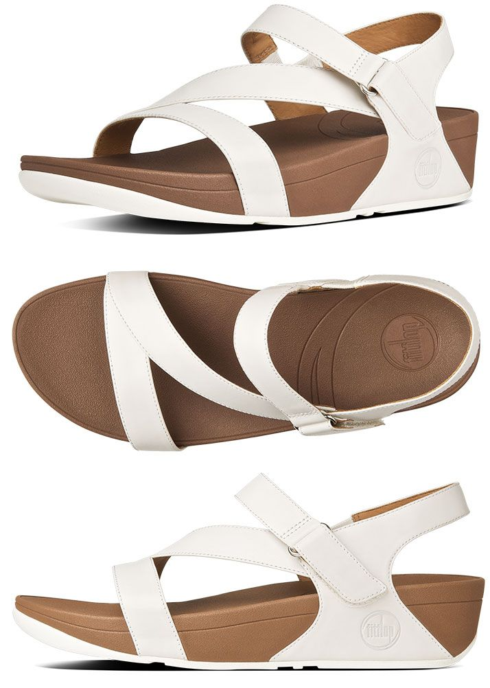 fa377fd5cb6 Urban White FitFlop Women s The Skinny Leather Sandals