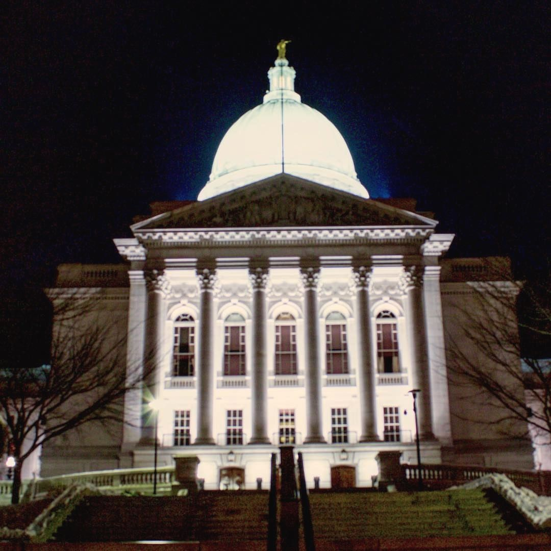 The capital at night. #canonphotography #madison #badgers #conquer_wi