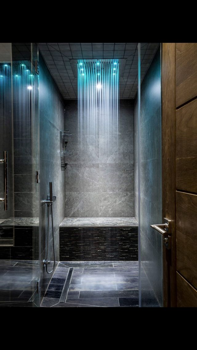 Awesome Rain Shower With Images Bathroom Shower Design Luxury