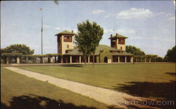 Swope Park The Mirror Pool Kansas City Missouri MO - Old