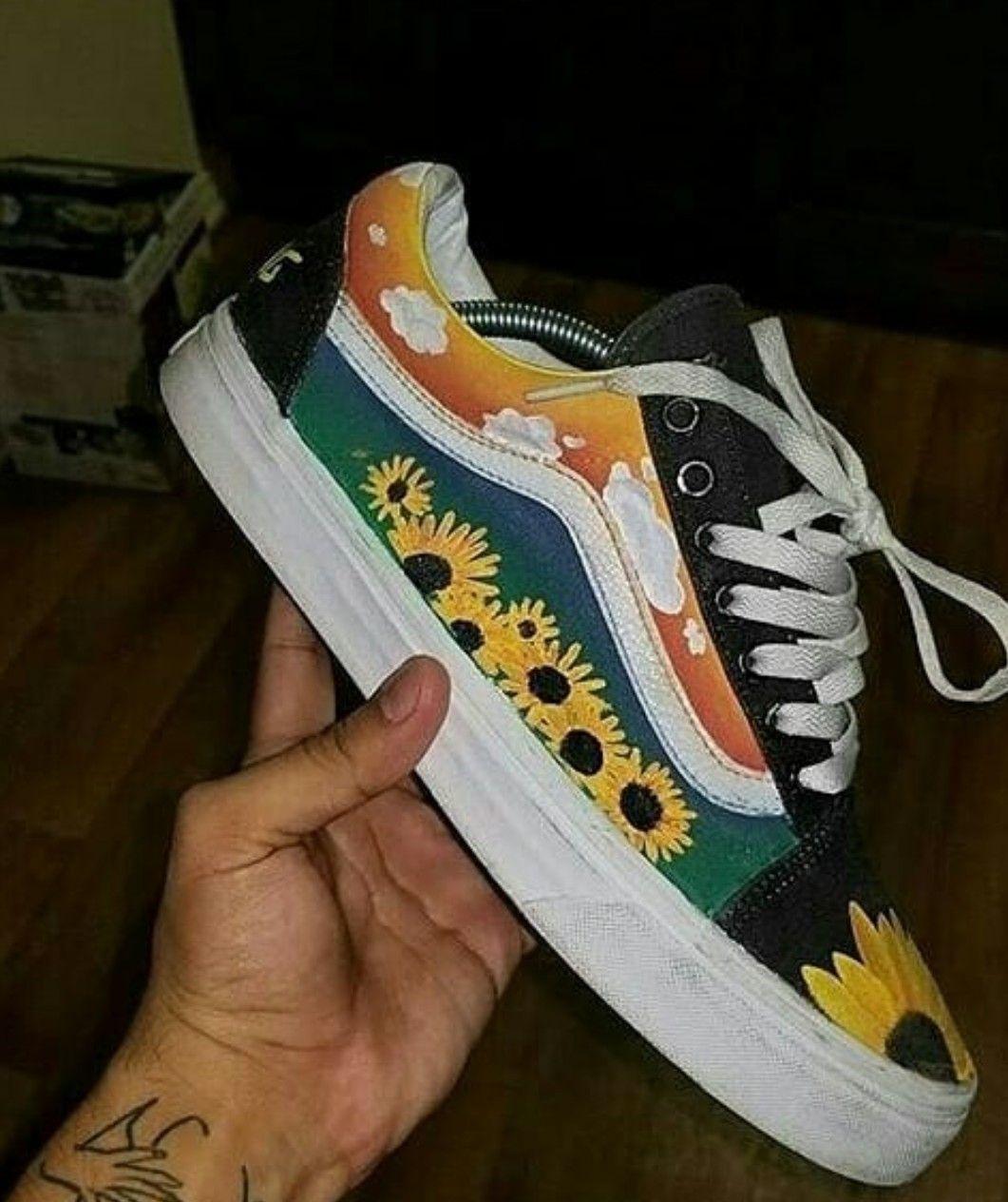 Custom Shoes | Hand Painted | Nike, Vans, Converse