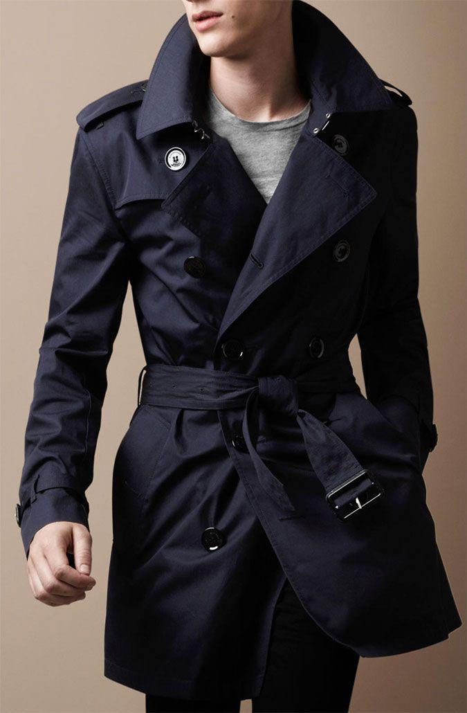 1b411ff513ae мужские плащи   Men s fashion   Coat, Trench coat men и Burberry
