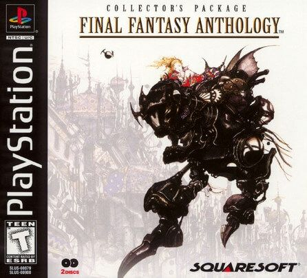 Final Fantasy Anthology Pal Español Psx Game Pc Rip Final Fantasy Vi Descarga Juegos Final Fantasy