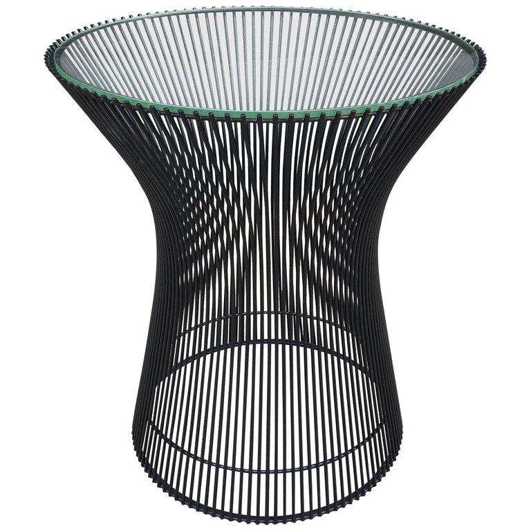 Warren Platner For Knoll Side Table Glass Side Tables Warren Platner Furniture