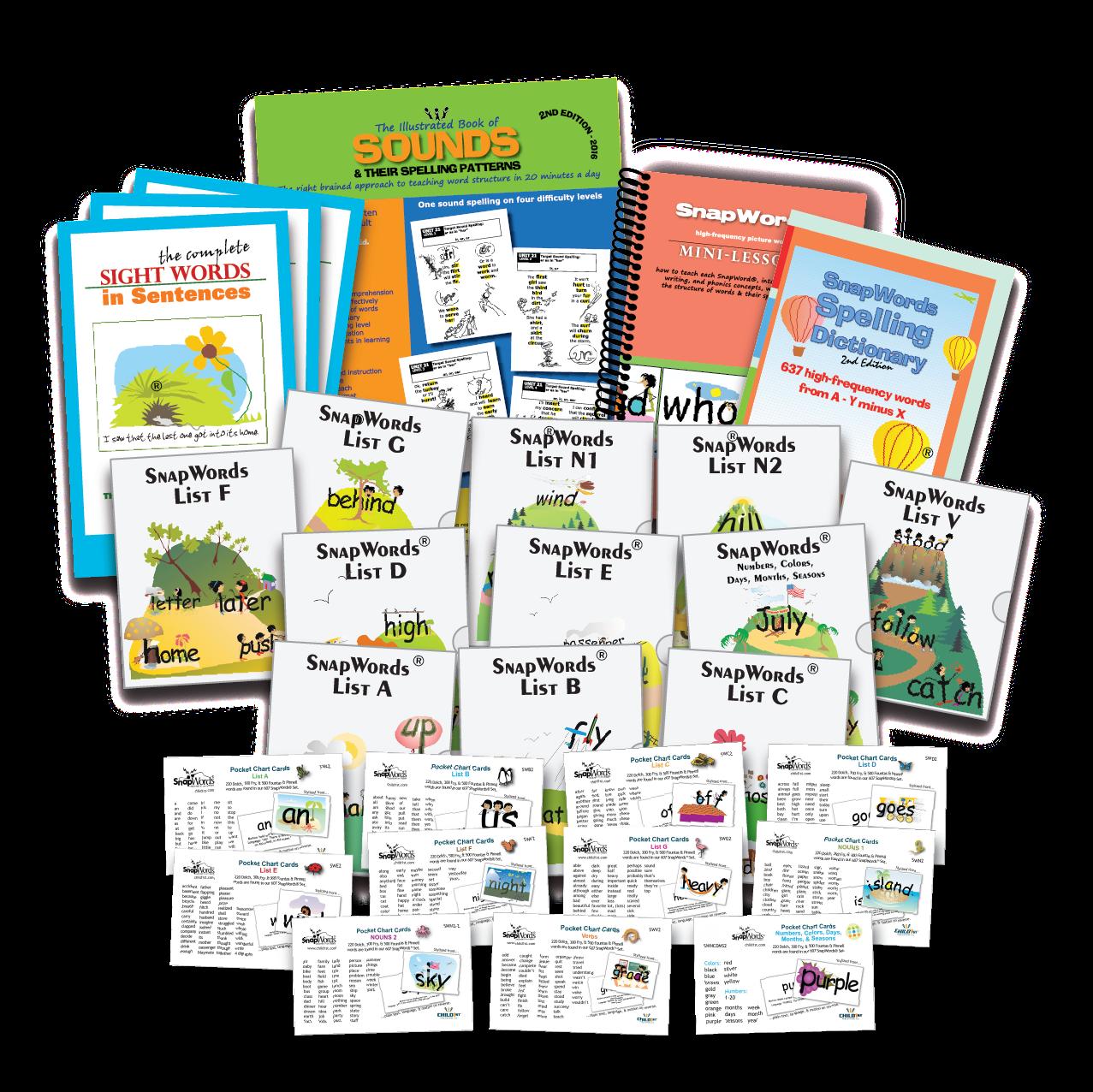 Snapwords Complete Classroom Kit