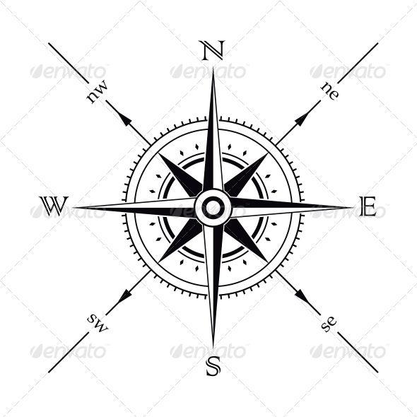 Compass | Compass, Compass tattoo and Tattoo
