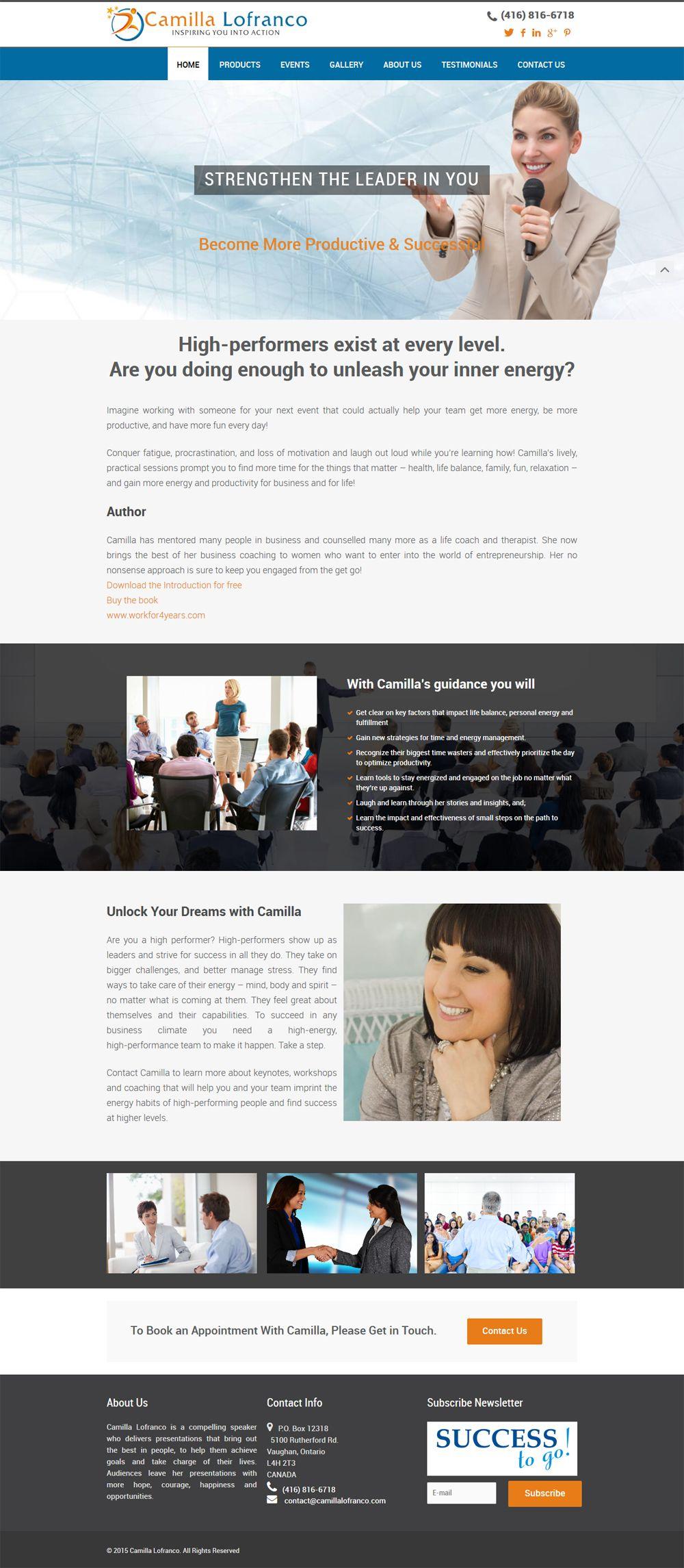 Web Design Portfolio By Brampton S Top Website Developers Portfolio Web Design Portfolio Website Design Web Design