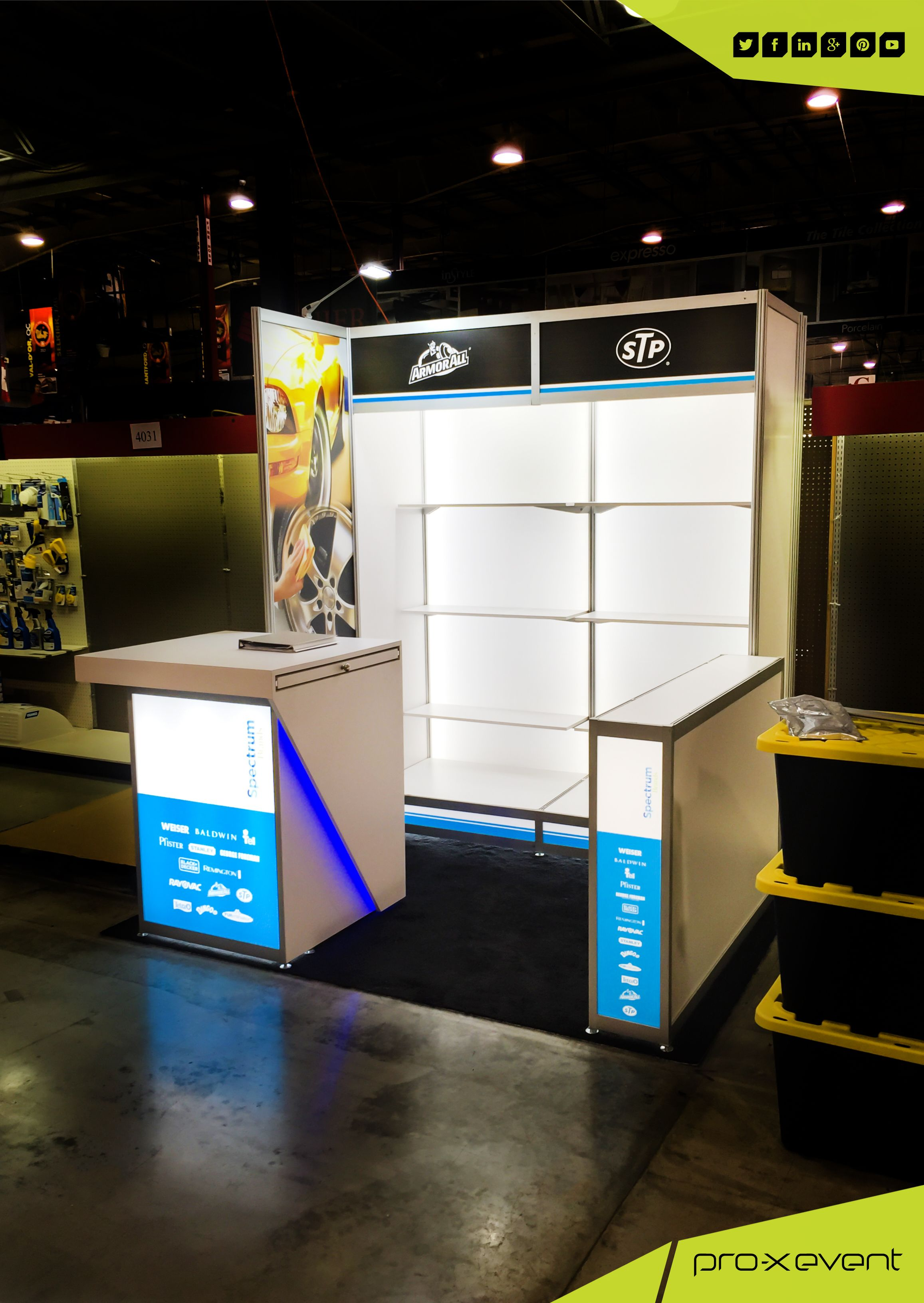we had a great time designing Spectrum Brands trade show display for ...