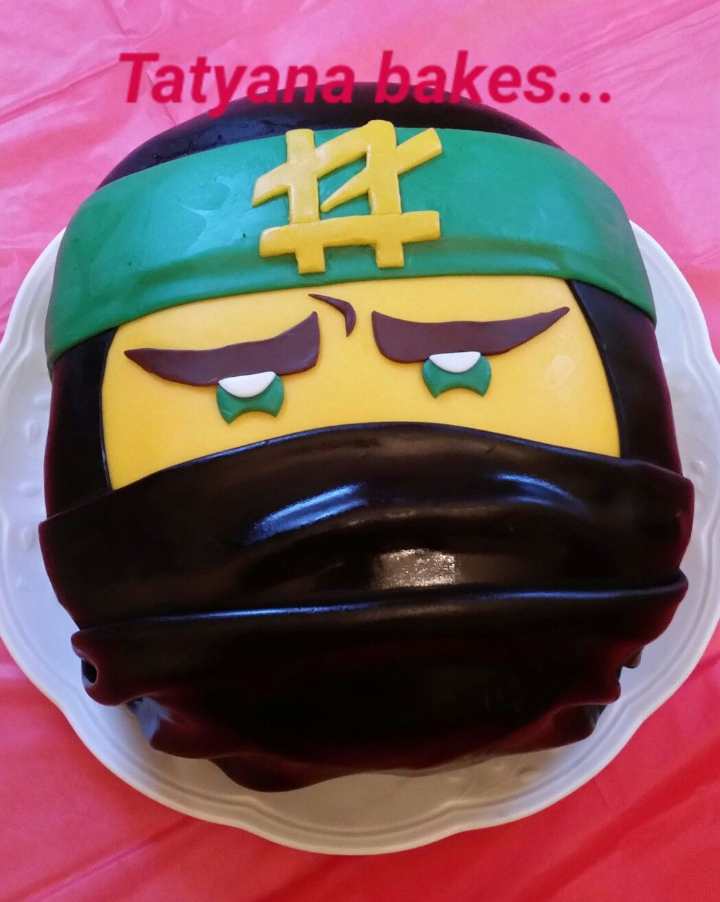 Lego Ninjago Movie Lloyd Birthday Cake