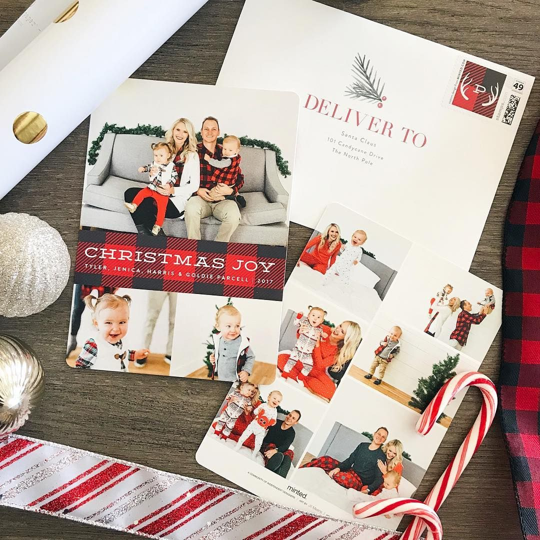 """Jenica Parcell on Instagram: """"Christmas cards! I love getting them ..."""