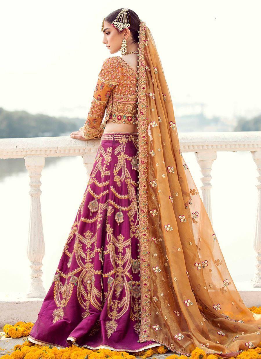 Pin De Shibra K En Shadi En 2019 Bridal Mehndi Dresses