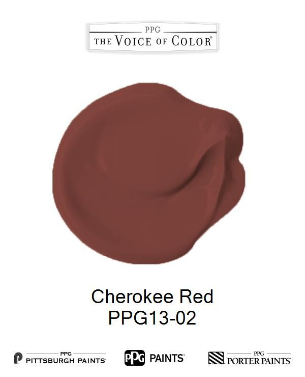 Cherokee Red Is A Part Of The Fallingwater Collection By Frank Lloyd Wright Paint Ppg Voice Color Browse This And More
