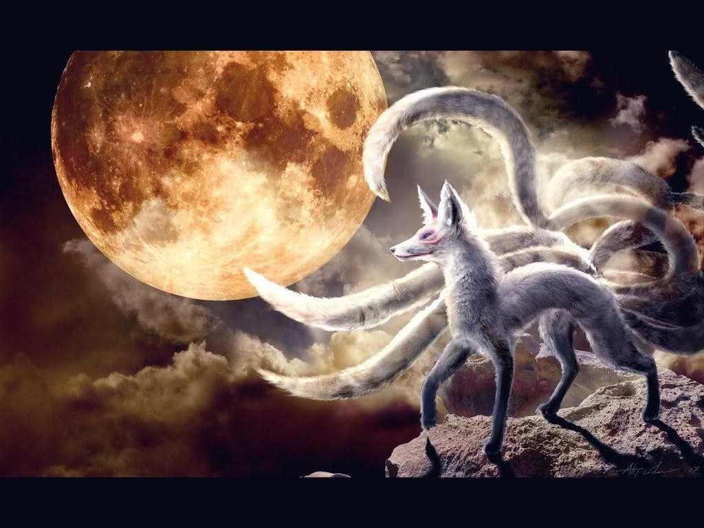"""Vaizdo rezultatas pagal užklausą """"Xianxia animals seven tail fox"""""""