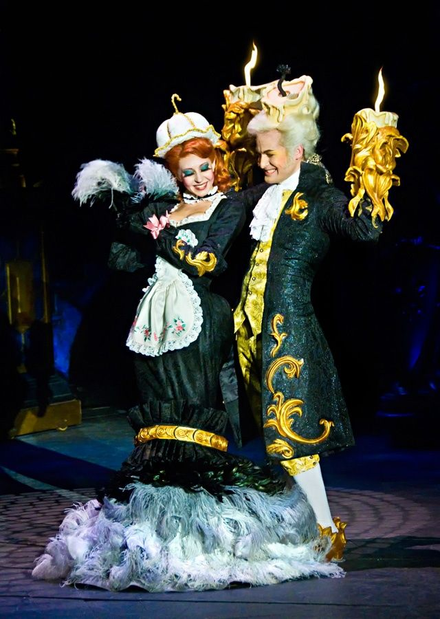 Lumiere And Feather Duster Beauty And The Beast On Stage Stage Broadway Bea Lumiere Beauty And The Beast Beauty And The Beast Costume Beauty And The Beast